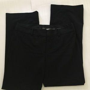 Ann Taylor Loft Black Julie Fit Trouser Size 12